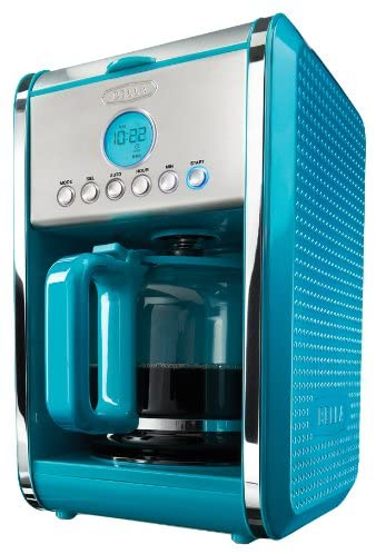 BELLA 13911 Dots Collection 12-Cup Programmable Coffee Maker
