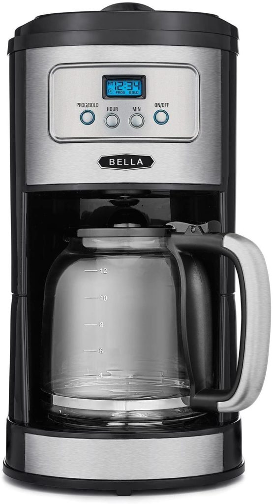 BELLA Classics 12 Cup Programmable Coffee Maker