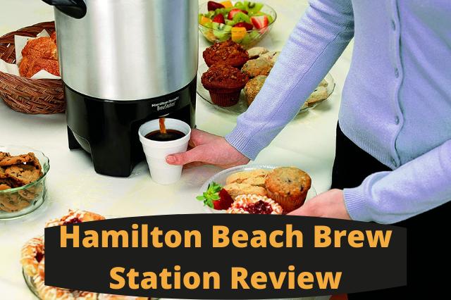 Hamilton Beach Brew Station Review