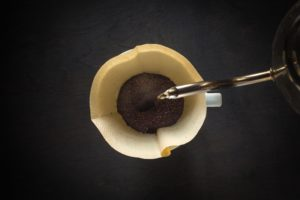 pour-over-coffee-on-black-table
